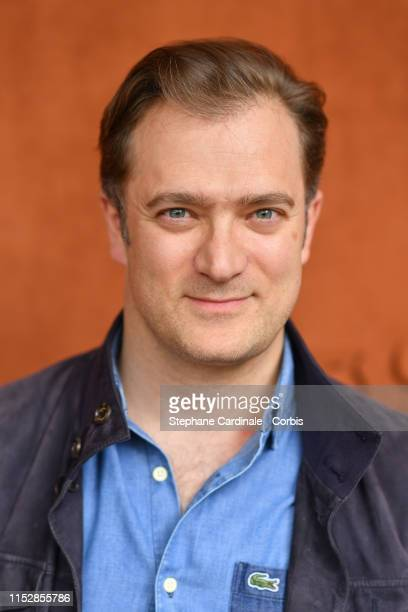 Renaud Capucon attends the 2019 French Tennis Open - Day Six at Roland Garros on May 31, 2019 in Paris, France.