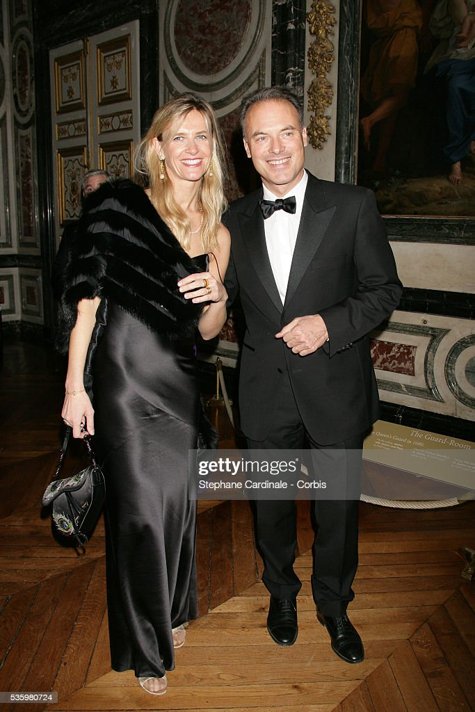 Renaud Dutreil attends the gala for the 'Fondation de l'Enfance' held in Versailles castle.