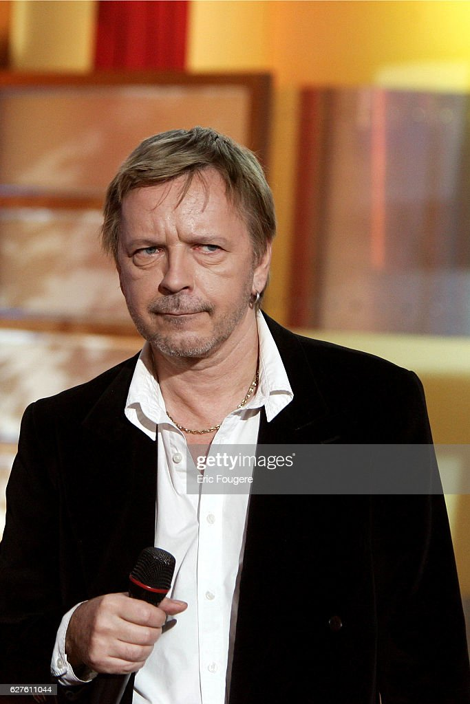 French singer Renaud : News Photo