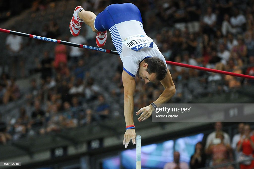 Renaud Lavillenie during the Meeting of Paris IAAF Diamond League 2016 at Stade de France on August 27, 2016 in Paris, France.