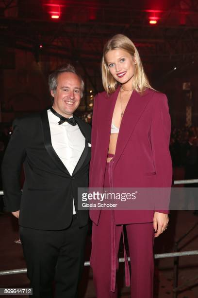 Renaud Lestringant Managing Director Cartier Northern Europe and model Toni Garrn during the 'When the Ordinary becomes Precious #CartierParty...