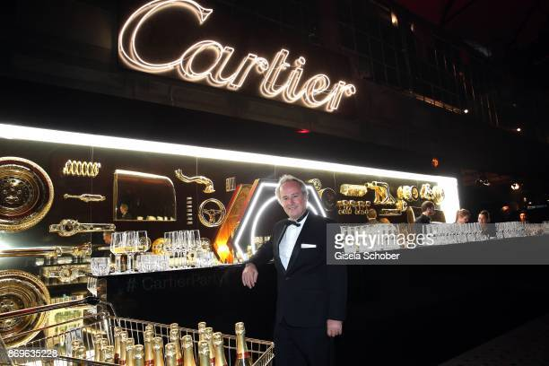 Renaud Lestringant Managing Director Cartier Northern Europe during the 'When the Ordinary becomes Precious #CartierParty Berlin ' at Old Power...