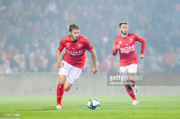 Renaud RIPART of Nimes during the Ligue 1 match between Nimes and Toulouse on September 21, 2019 in Nimes, France.