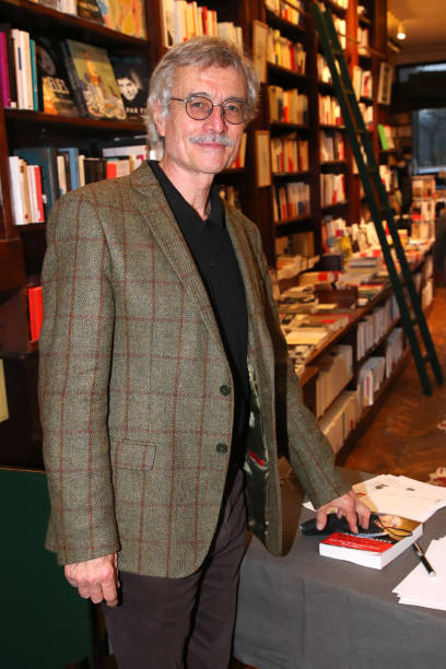 FRA: Renaud Van Ruymbeke Signs His Book At Librairie Galignani