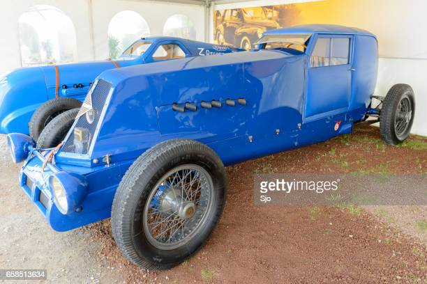 renault 40 cv 1926 speed record car - number 40 stock photos and pictures