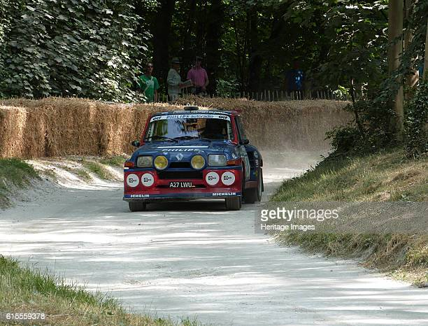 Renault 5 Rally car at Goodwood Festival of Speed 2013 Artist Unknown