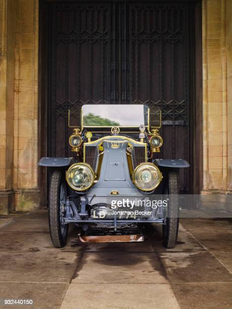 Renault acquired by the ninth earl is photographed for Vanity Fair Magazine on June 25 2016 at Belvoir Castle in Leicestershire England PUBLISHED...