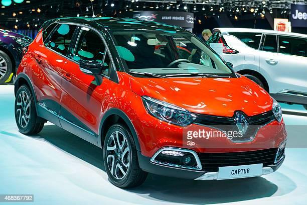 Renault Captur compact SUV car front view