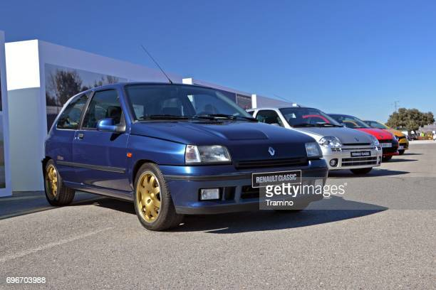 Renault Clio RS - four generations