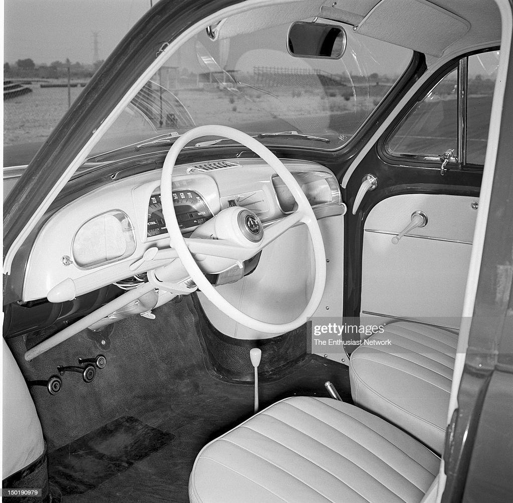 Retort to the VW  New Imports story Motor Trend September 1956