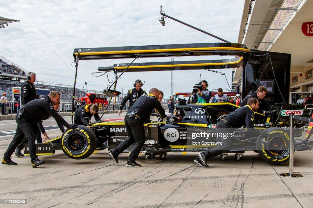 AUTO: NOV 01 F1 - United States Grand Prix : News Photo