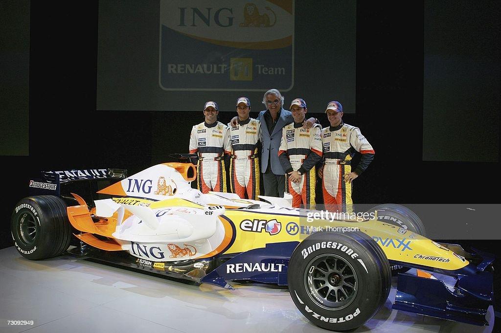 Renault F1 Launch : News Photo