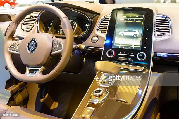 Renault Espace large MPV interior