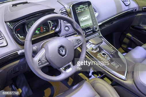 Renault Espace Large Mpv Interior Stock Photo   Getty Images