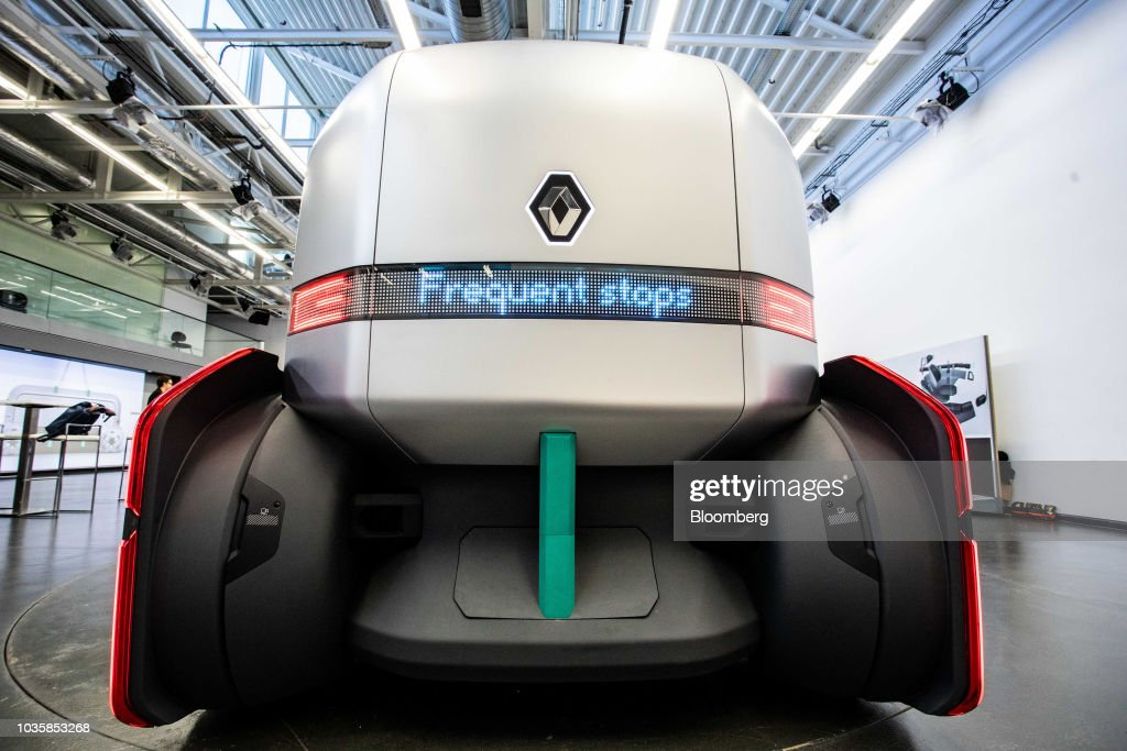 Renault Unveil EZ-Pro Autonomous Urban Delivery Concept Vehicle