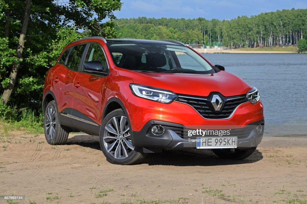 Renault Kadjar - French crossover : Stock Photo