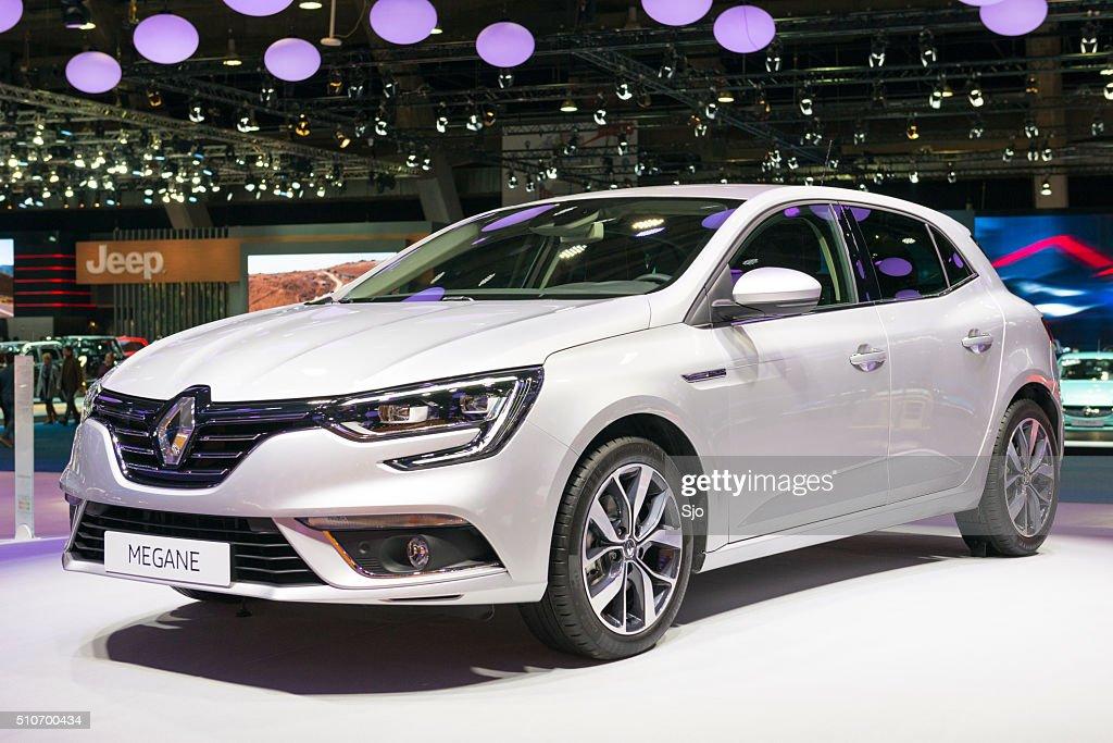 Renault Megane hatchback car : Stock Photo