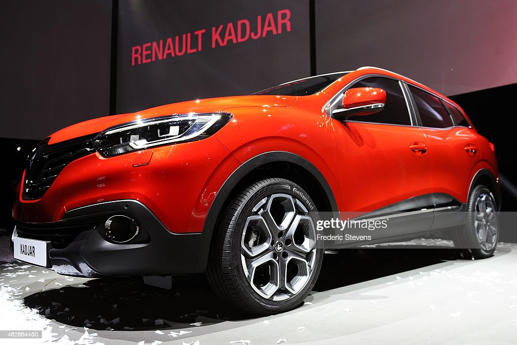 Renault SA's Kadjar compact sport-utility vehicle (SUV) is unveiled at La Cite du Cinema February 2, 2015 at Saint Denis, France. Renault SA joined a crowded field today, unveiling a compact sport-utility vehicle built to enhance the company's presence in China and Europe.