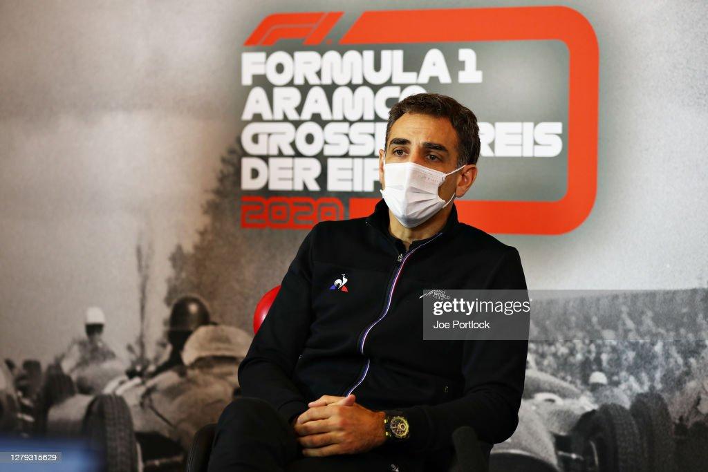 F1 Eifel Grand Prix - Practice : News Photo
