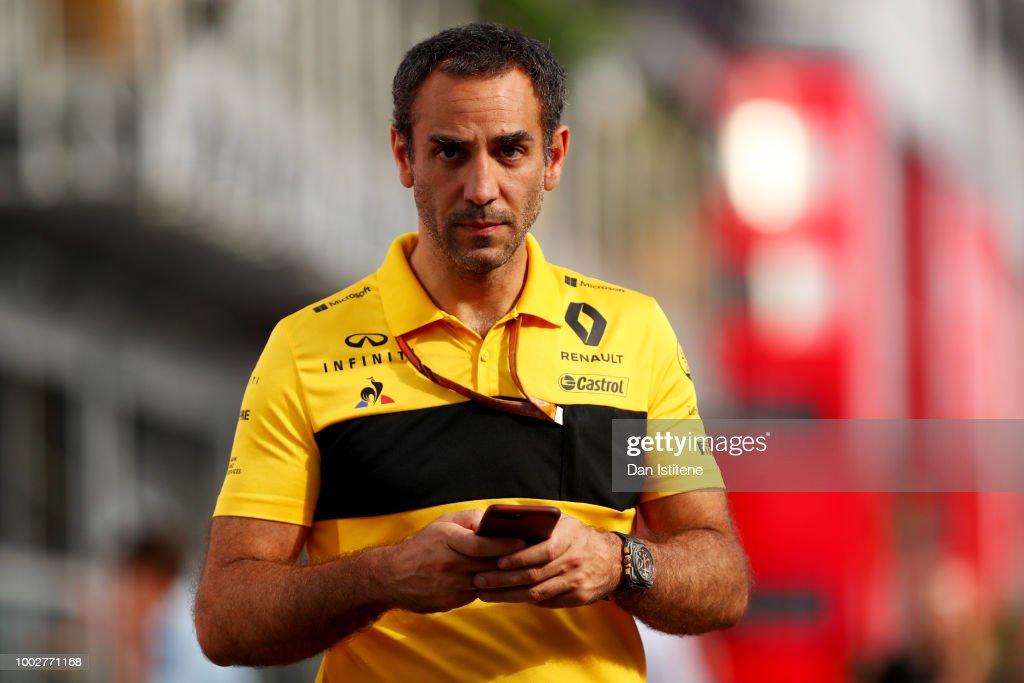 F1 Grand Prix of Germany - Practice : News Photo