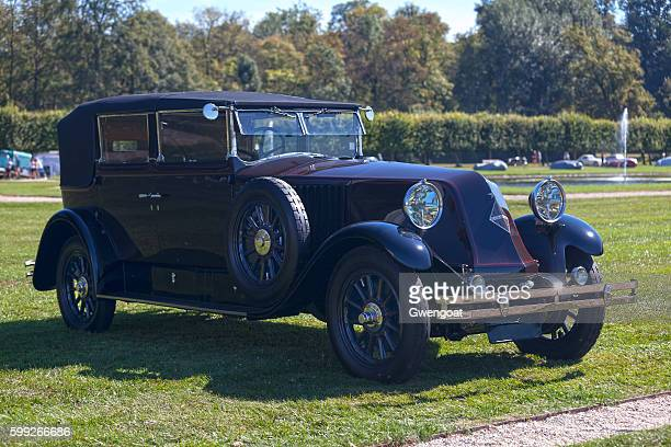 renault vivastella pg-2 - 1929 - gwengoat stock pictures, royalty-free photos & images