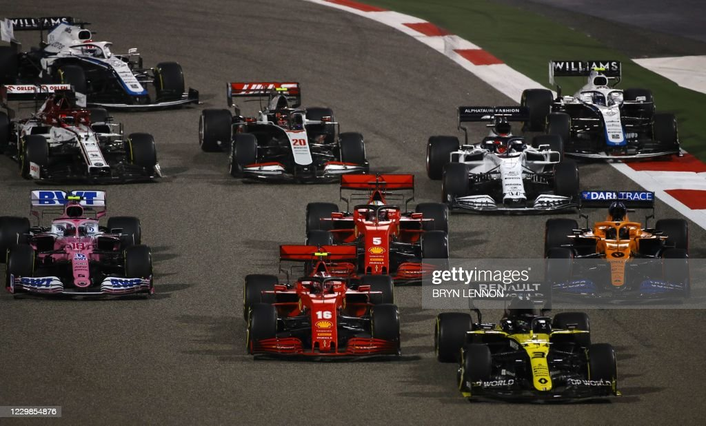 AUTO-PRIX-F1-BAHRAIN : News Photo