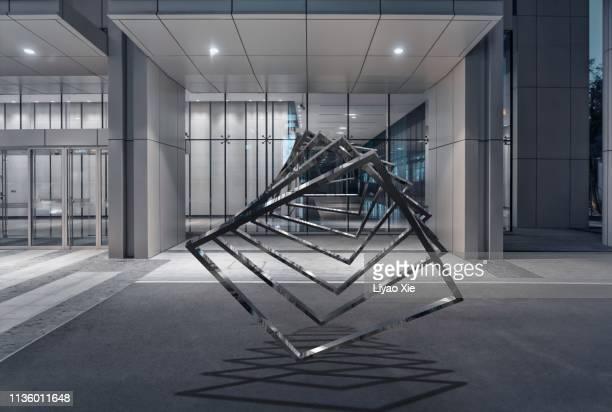 ar rendered composition - square composition - fotografias e filmes do acervo