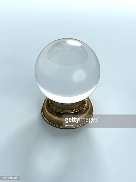 3 D graphique ornée D'une Boule de cristal