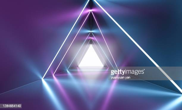 3d rendering abstract background - lighting equipment stock pictures, royalty-free photos & images
