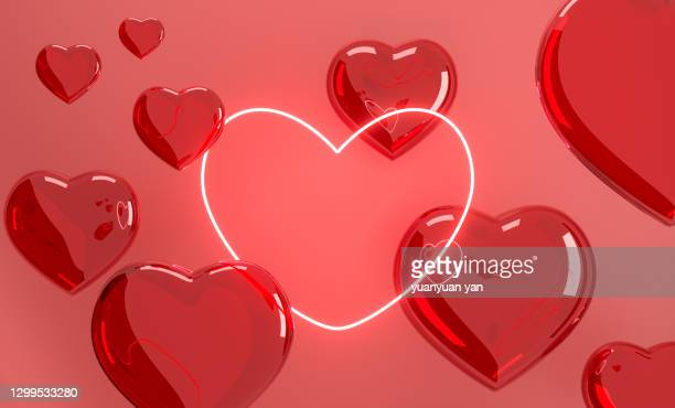3d rendering abstract background - romanticism stock pictures, royalty-free photos & images