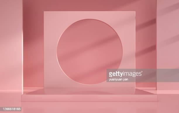 3d rendering exhibition background - dreidimensional stock-fotos und bilder