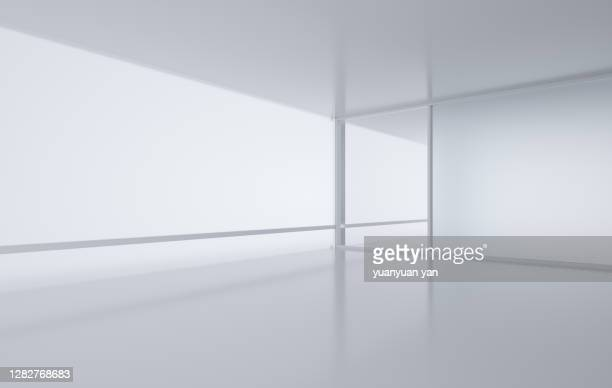 3d rendering exhibition background - domestic room stock pictures, royalty-free photos & images