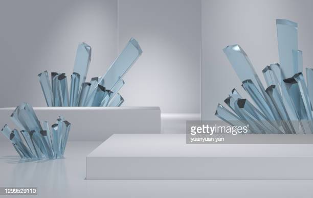 3d rendering exhibition background - exhibition stock pictures, royalty-free photos & images