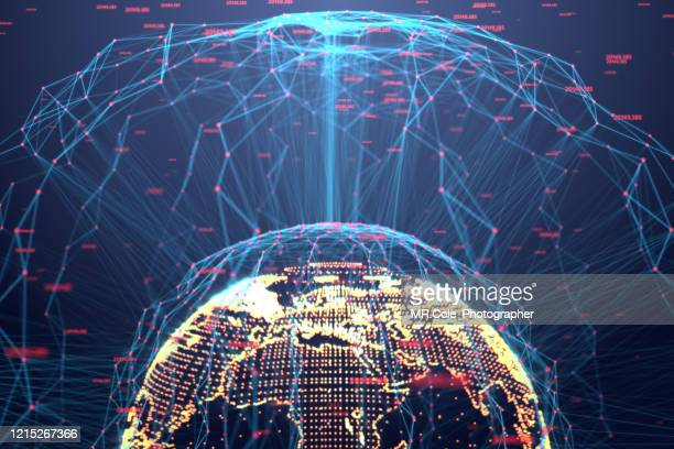 3d  rendering illustration of global futuristic abstract background,digital global and data analysis,global communication network connection concept - surveillance stock pictures, royalty-free photos & images