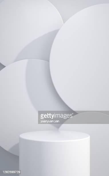 3d rendering product background - 台座 ストックフォトと画像