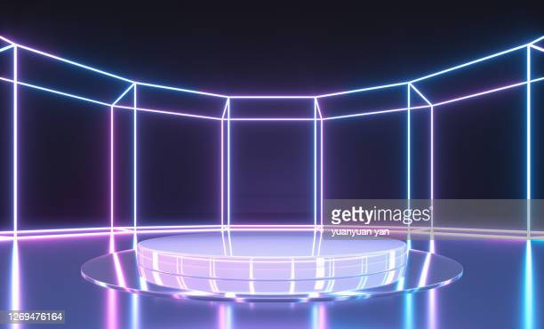 3d rendering product background - stage performance space stock pictures, royalty-free photos & images