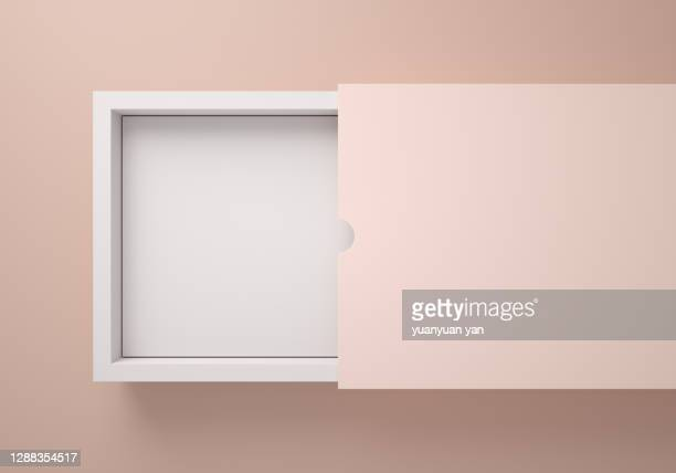 3d rendering product background - caixa imagens e fotografias de stock
