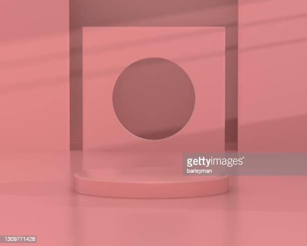 3d rendering product background - carré composition photos et images de collection