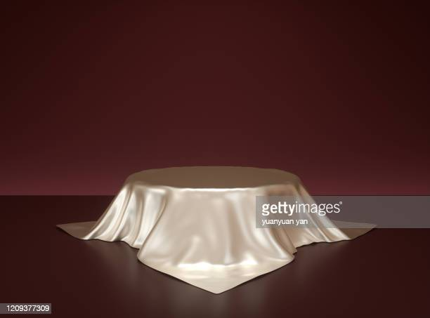 3d rendering showroom background - silk stock pictures, royalty-free photos & images
