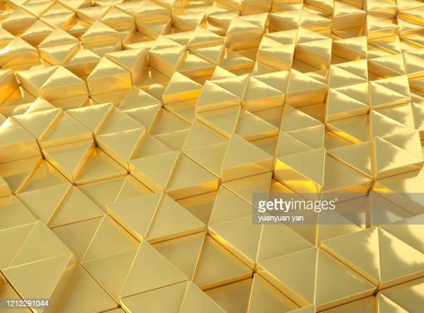 3d rendering triangle abstract background - award stock pictures, royalty-free photos & images