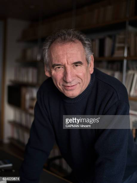 Rendez vous with the politician Francois Bayrou leader of the MoDem party and mayor of Pau at his home in Borderes near Pau on January 27 2017