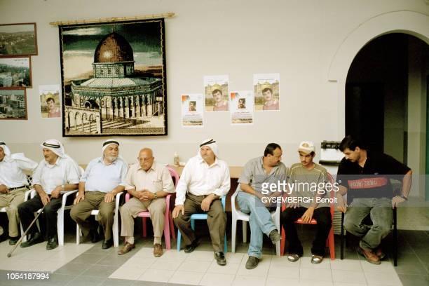 Rendezvous avec Marwan BARGHOUTI secrétaire général du Fatah en Cisjordanie et chef du Tanzim l'organisation armée des militants palestiniens à...