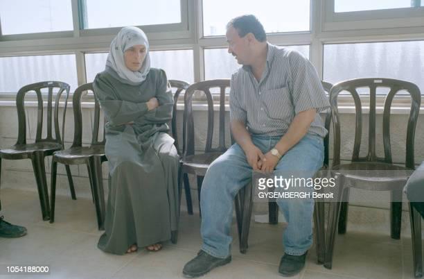 Rendezvous avec Marwan BARGHOUTI secrétaire général du Fatah en Cisjordanie et chef du Tanzim l'organisation armée des palestiniens à Ramallah en...