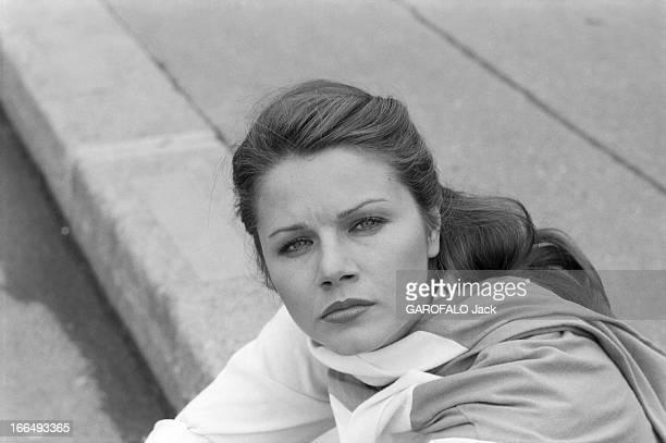 Rendezvous With Actress Agostina Belli France Paris 5 juillet 1978 l'actrice Italienne Agostina BELLI visite la capitale après deux tournages...