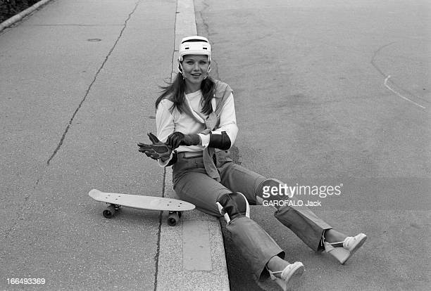 Rendezvous With Actress Agostina Belli France Paris 5 juillet 1978 l'actrice Italienne Agostina BELLI visite la capitale après deux tournages Ici sur...