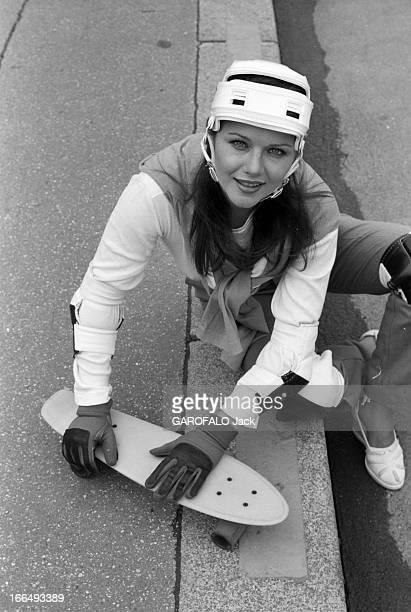 Rendezvous With Actress Agostina Belli France Paris 5 juillet 1978 l'actrice Italienne Agostina BELLI visite la capitale après deux tournages Ici à...