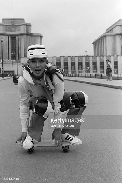 Rendezvous With Actress Agostina Belli France Paris 5 juillet 1978 l'actrice Italienne Agostina BELLI visite la capitale après deux tournages faisant...