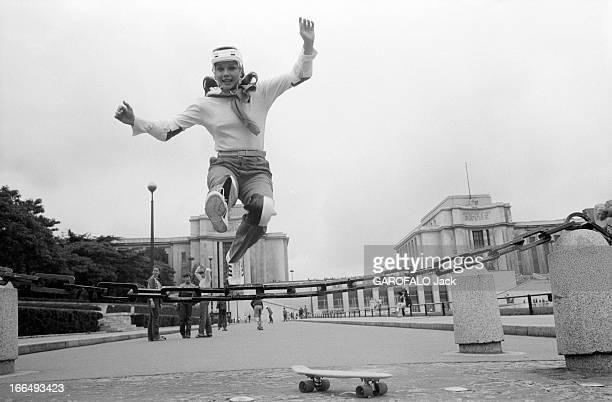Rendezvous With Actress Agostina Belli France Paris 5 juillet 1978 l'actrice Italienne Agostina BELLI visite la capitale après deux tournages Ici au...