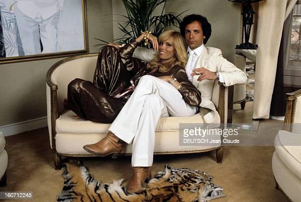 Rendezvous With Alain-philippe Malagnac And His Wife Amanda Lear. En France, à Paris, en juin 1979, Alain-Philippe MALAGNAC, homme d'affaire, et son...