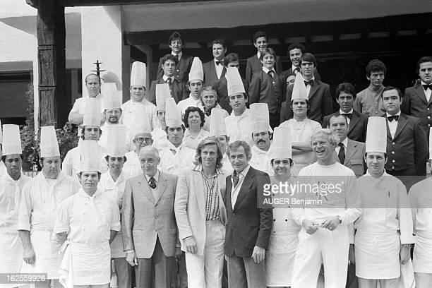 Rendezvous With Bjorn Borg And His Bride Mariana In Marbella. Marbella, janvier 1980 : le champion de tennis Bjorn BORG, 23 ans, avec sa fiancée...